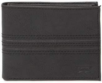 Levi's Cameron Leather Passcase Wallet