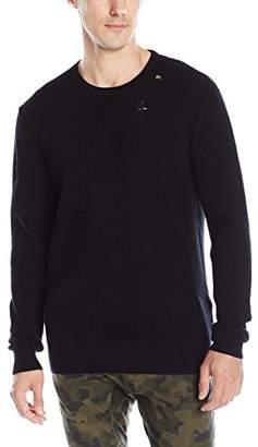 Zanerobe Men's Waffle Knit Crew Sweater