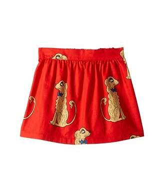Mini Rodini Spaniels Woven Skirt (Infant/Toddler/Little Kids/Big Kids)