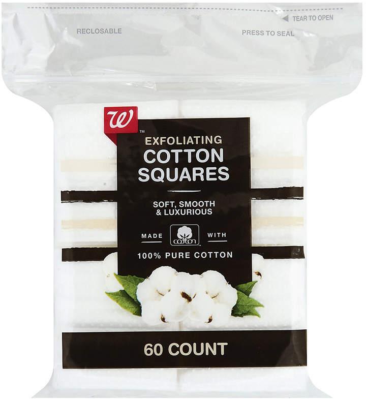 Walgreens Beauty Premium Exfoliating Cotton Squares
