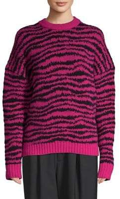 Marc Jacobs Wool-Blend Striped Sweater