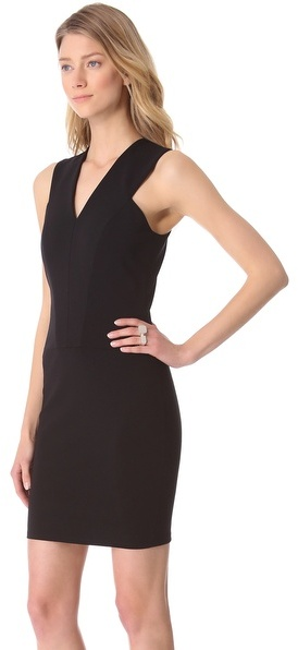 Thierry Mugler Sleeveless Jersey Dress