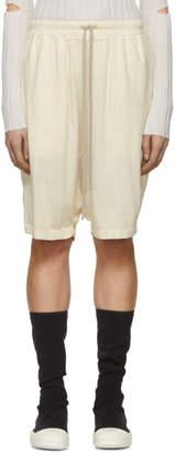 Rick Owens Off-White Pod Shorts