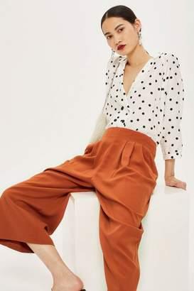 Topshop Petite Crop Wide Trousers