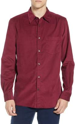 French Connection 28 Wales Regular Fit Corduroy Shirt