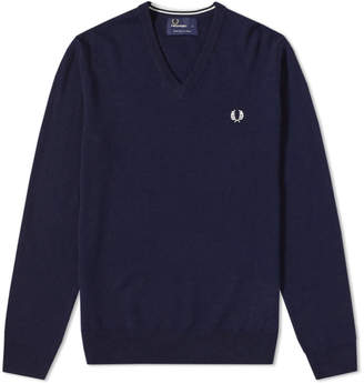 Fred Perry Authentic Classic V-Neck Knit