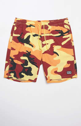 Obey Subversion Camouflage Drawstring Shorts