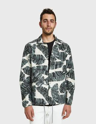 Herschel Coaches Jacket in Silver Birch
