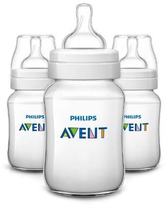 Avent Naturally Philips Anti Colic bottle 3pk - Clear