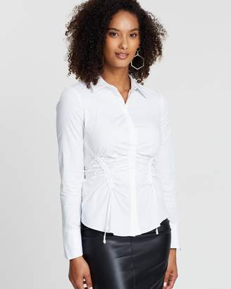 Karen Millen Gathered Shirt