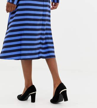 New Look Suedette Heeled Shoe