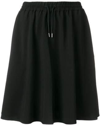 Fila flared track skirt