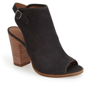 Women's Lucky Brand 'Lisza' Open Toe Bootie $108.95 thestylecure.com