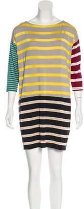 Antipodium Long Sleeve Mini Dress