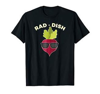 Cool Radish Shirt-Vegan T-Shirt-Vegetarian Gifts
