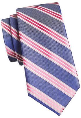 MICHAEL Michael Kors Multi Striped Silk Tie