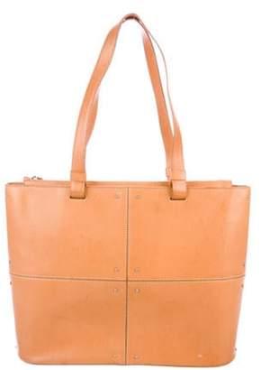 Tod's Leather Zip Shoulder Bag Tan Leather Zip Shoulder Bag