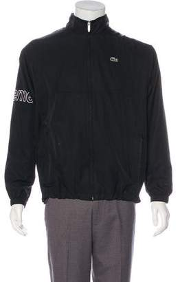 Lacoste Supreme x 2017 Logo Track Jacket