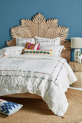Anthropologie Embellished Drift Quilt