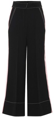 Roksanda Hasani high-rise wide-leg cady pants