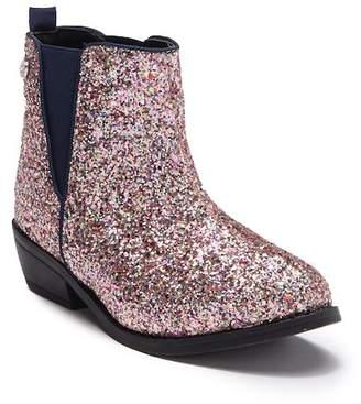 Bebe Chunky Glitter Chelsea Boot (Little Kid & Big Kid)