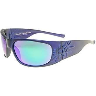 Black Flys Sonic 2 Floating Polarized Shield Sunglasses