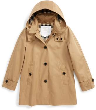 Burberry Geri Update Hooded Rain Jacket