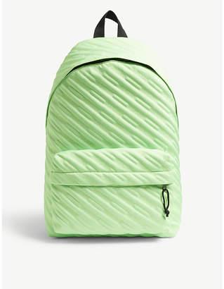 Balenciaga Explorer logo embroidered nylon backpack