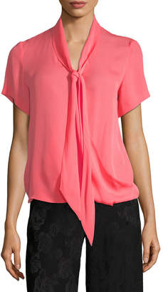 Etro Ruched Batwing Top