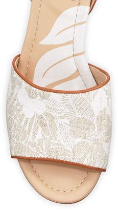 Tommy Bahama Ivy Walk Leather Wedge Sandals