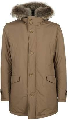 Herno Fur Trimmed Jacket