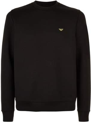 Emporio Armani Eagle Motif Sweater