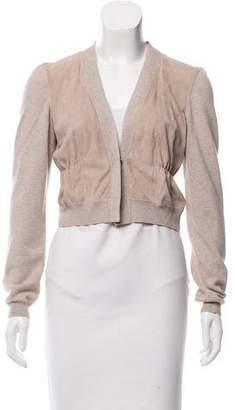 Brunello Cucinelli Wool & Silk-Blend Knit Cardigan