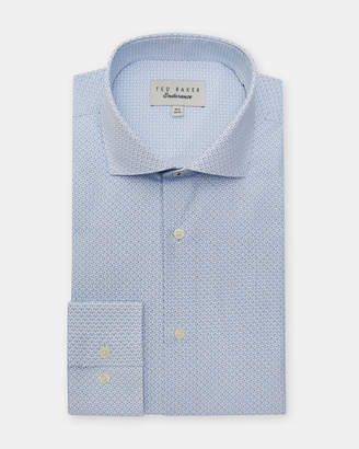 Ted Baker WOBEGO Micro print cotton shirt