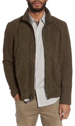 Men's John Varvatos Star Usa Zip Front Leather Jacket $798 thestylecure.com
