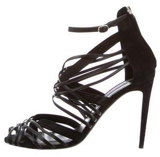 Ralph Lauren Multi-Strap Sandals $125 thestylecure.com