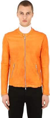Giorgio Brato Zip-Up Leather Shirt Jacket