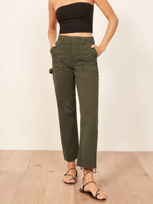 Reformation Utility Pant