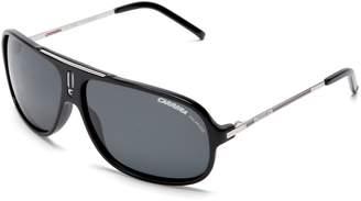 Carrera Sunglasses, Cool/Frame: Black/White Black Lens: Gray Gradient