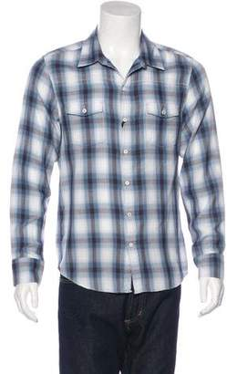 Paige Plaid Hunter Shirt w/ Tags