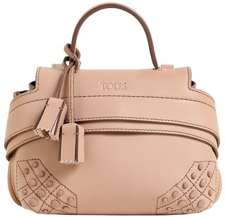 Micro Wave Leather Shoulder Bag $945 thestylecure.com