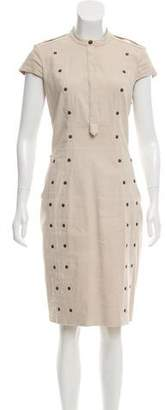 Burberry Studded Knee-Length Dress