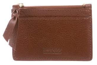 Lotuff Leather Zipper Credit Card Wallet w/ Tags