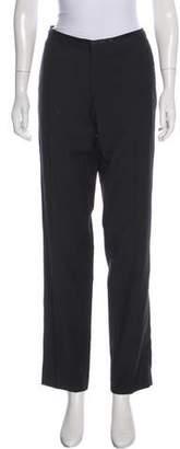 The Kooples Wool Mid-Rise Straight-Leg Pants