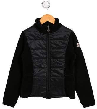 Moncler Boys' Puffer Fleece Jacket