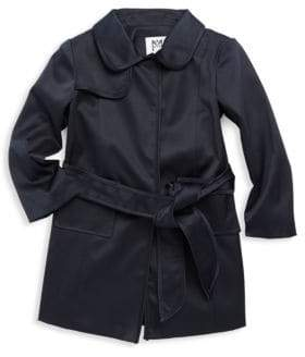 Milly Minis Girl's Trench Coat