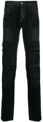 Philipp Plein Animal Bar jeans
