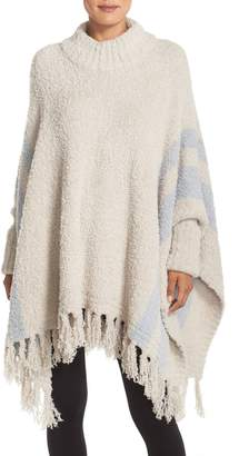 Barefoot Dreams r) 'Cozy Chic(R) Beach' Fringe Lounge Poncho