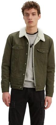 Levi's Levis Men's Sherpa-Lined Trucker Jacket