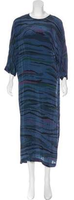Preen by Thornton Bregazzi Printed Silk Dress